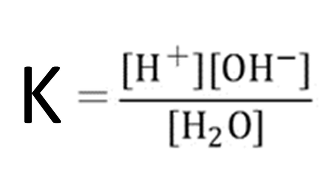 水のイオン積