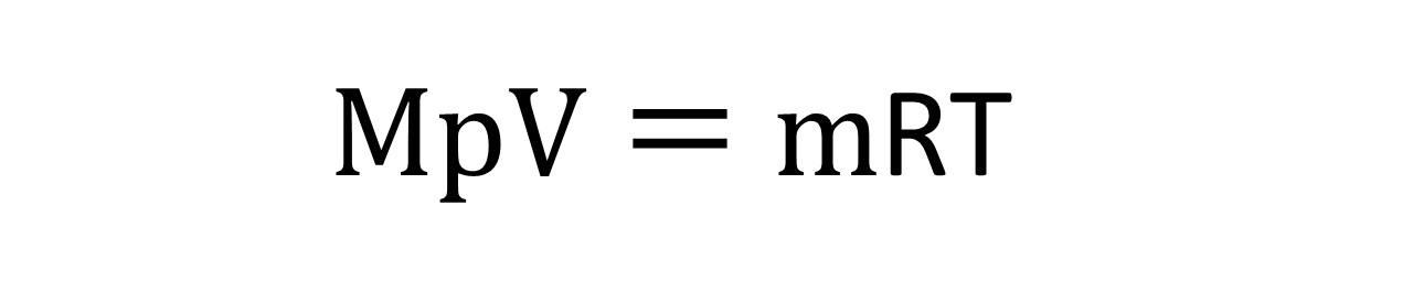 分子量算出式②
