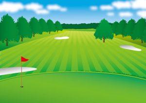 ゴルフコースの画像